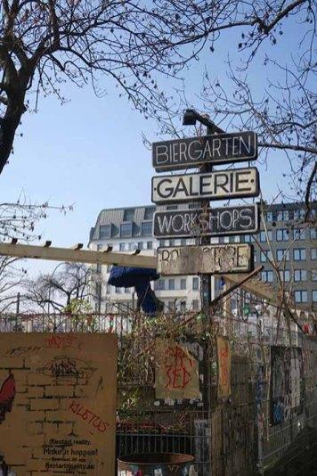 Les biergarten de Berlin
