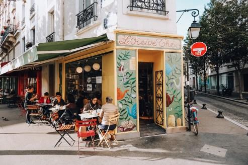 Café tricot paris 13 Oisive thé