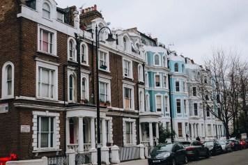 Se promener à travers Notting Hill