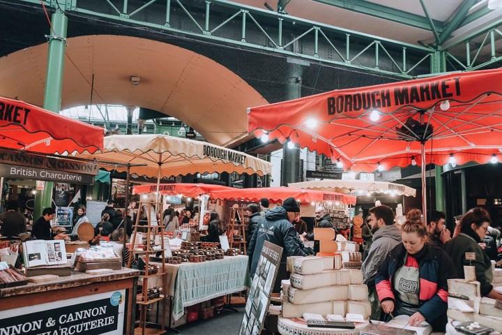 Visiter Borough market à Londres