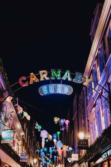 Carnaby Street Soho Londres