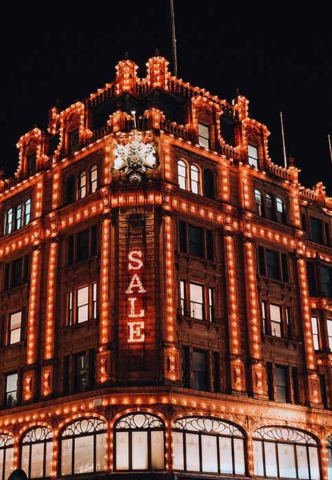 Faire du shopping à Londres à Harrods