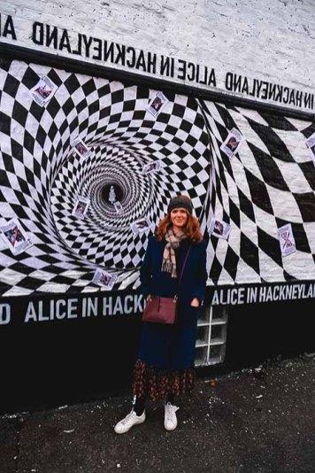 Street art à Londres, Hacnkey
