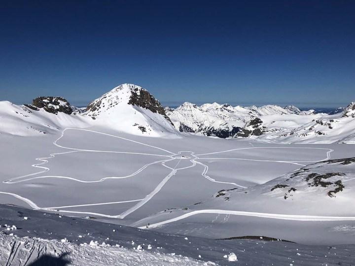 Faire du ski de fond à Crans Montana
