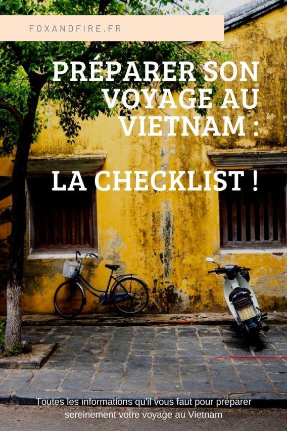 Bien préparer son voyage au Vietnam : la checklist