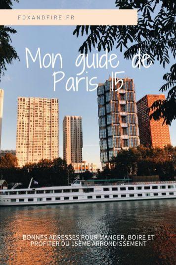 Bonnes adresses Paris 15