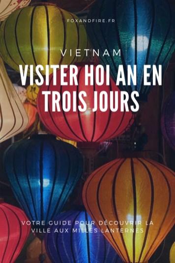 Que faire à Hoi An Vietnam