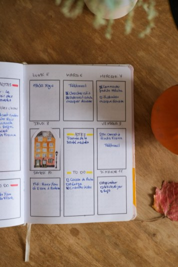 Double page semaine d'octobre