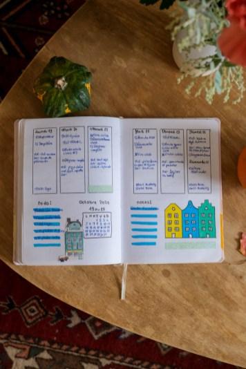 Mise en page semaine - Octobre