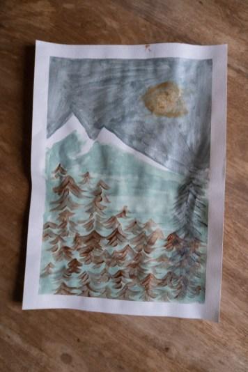 paysage-hiver-acrylique