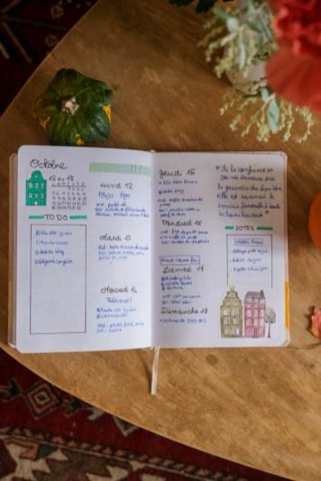 Weekly log simple - octobre