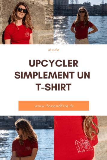 Astuce facile pour upcycler un t-shirt
