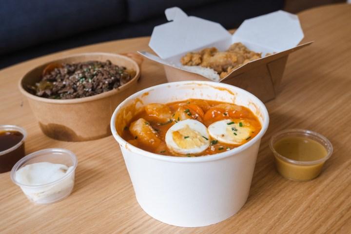 Manger dans un restaurant coréen à Paris