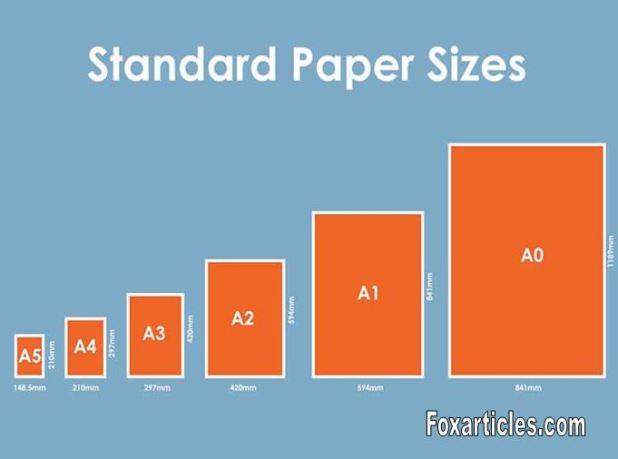 Legal paper size