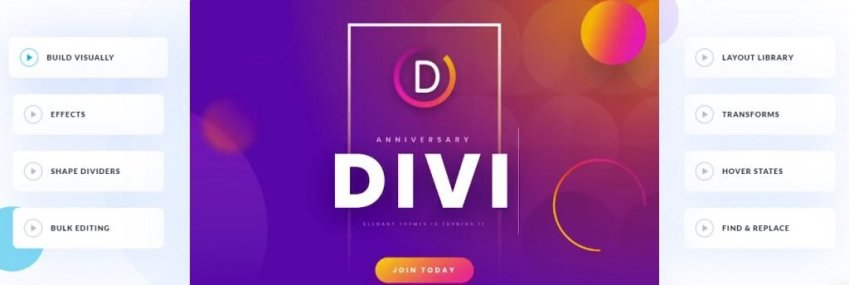divi themes features
