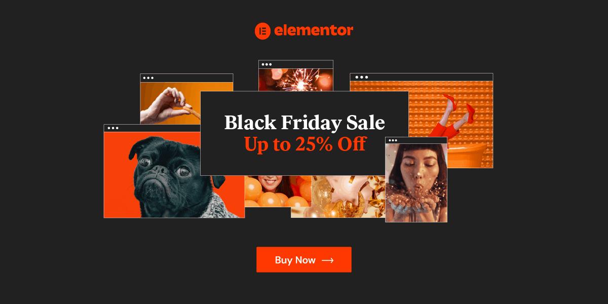 Elementor Black Friday Discounts