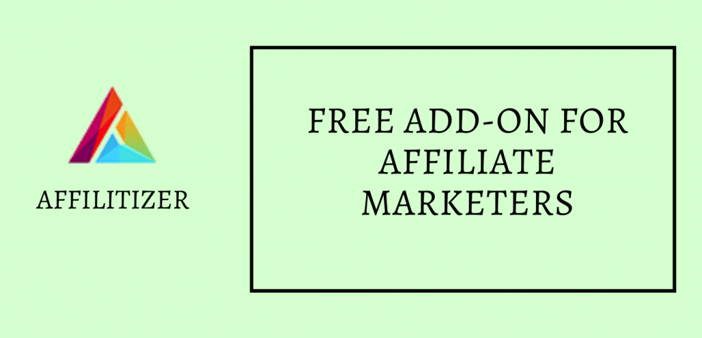 Affilitizer - Discover affiliate products using chrome extension