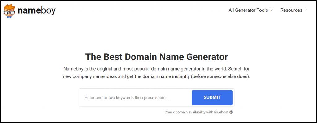 Get blog domain name Ideas