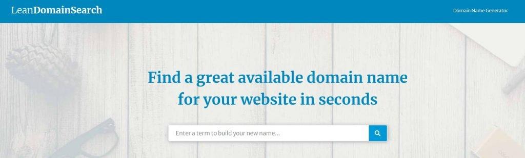 Lifestyle blog domain name creator
