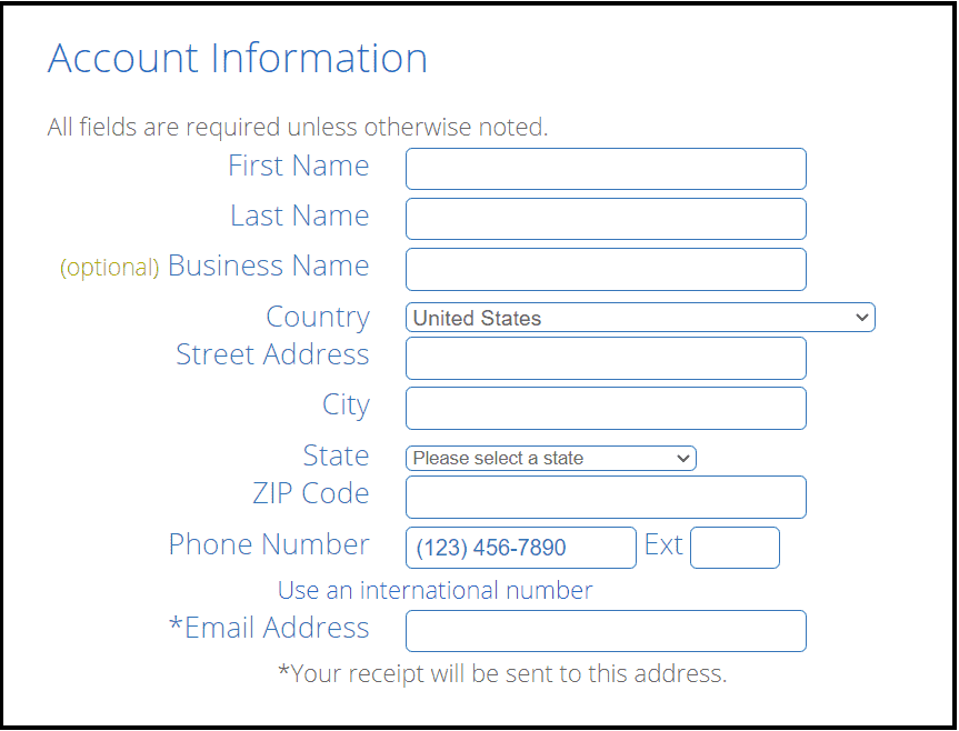 Create Bluehost account on discounts