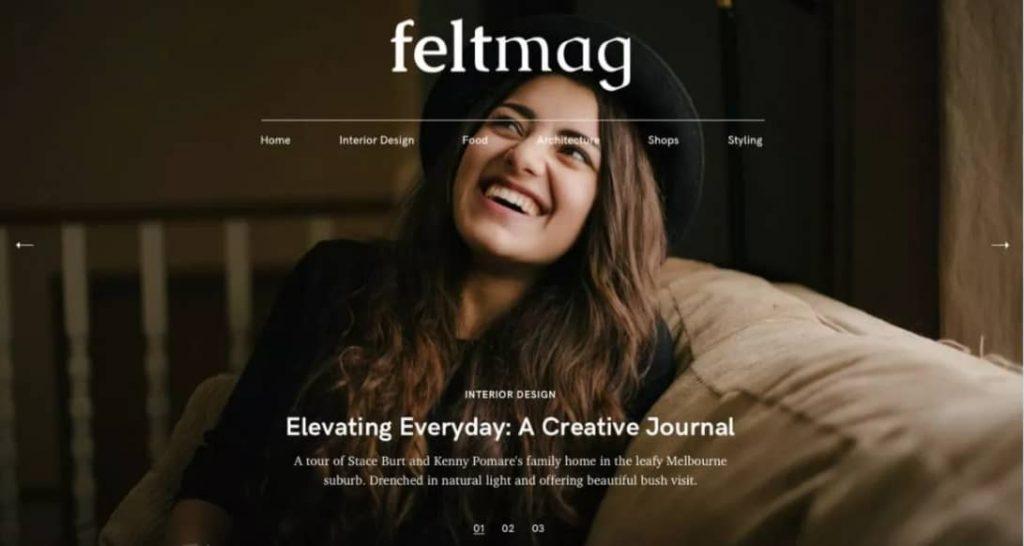 Felt - Flexible WordPress theme