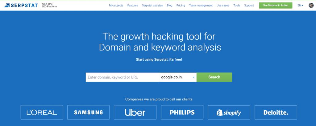 Sertstap - Powerful keyword tool for SEO