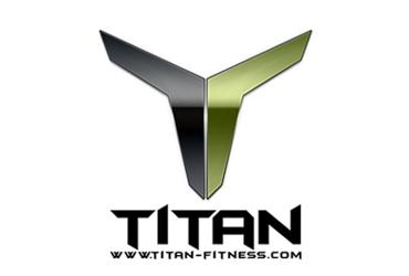 Titan Fitness logo.
