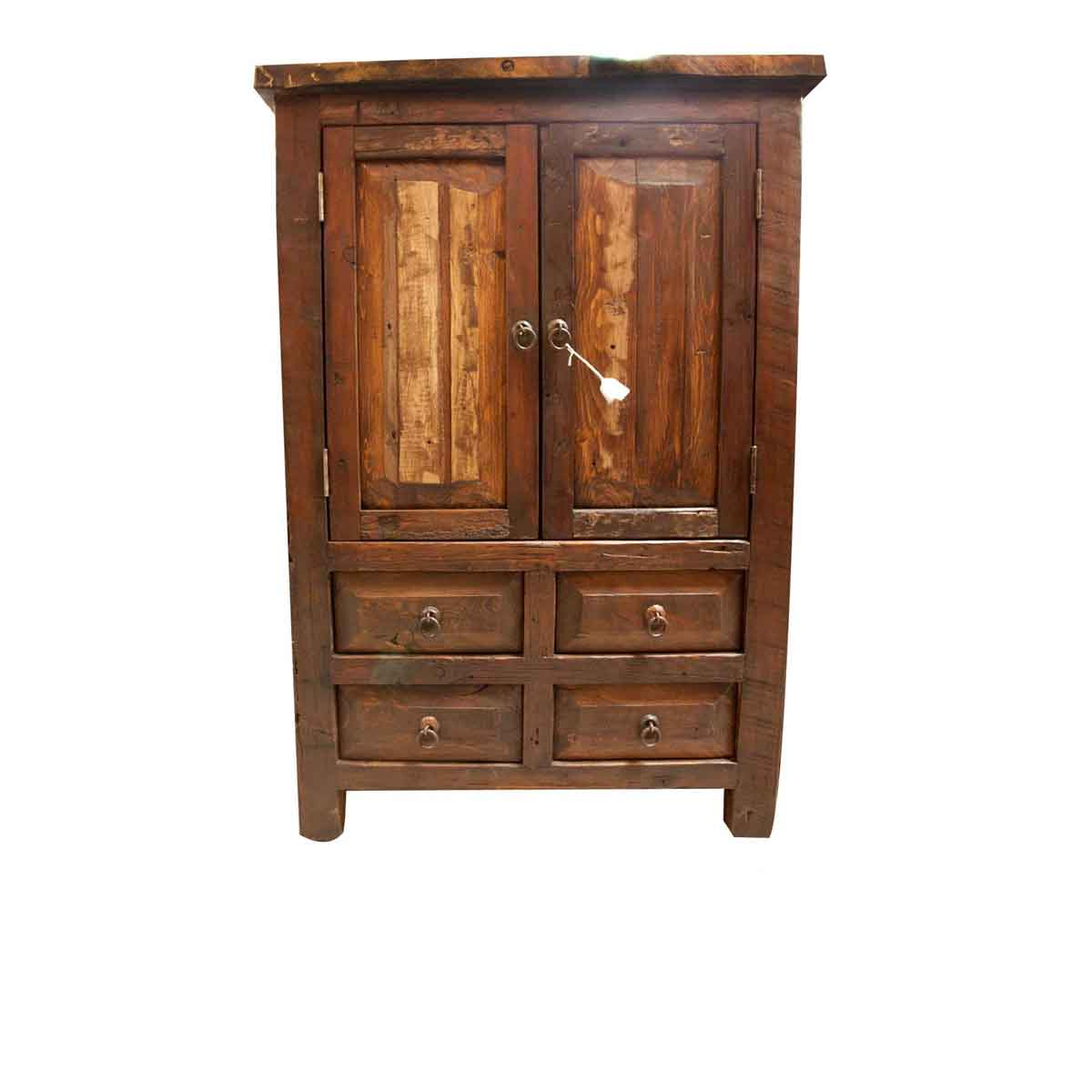 Buy Ezra Reclaimed Armoire Online  Old Wood Cabinet for Sale