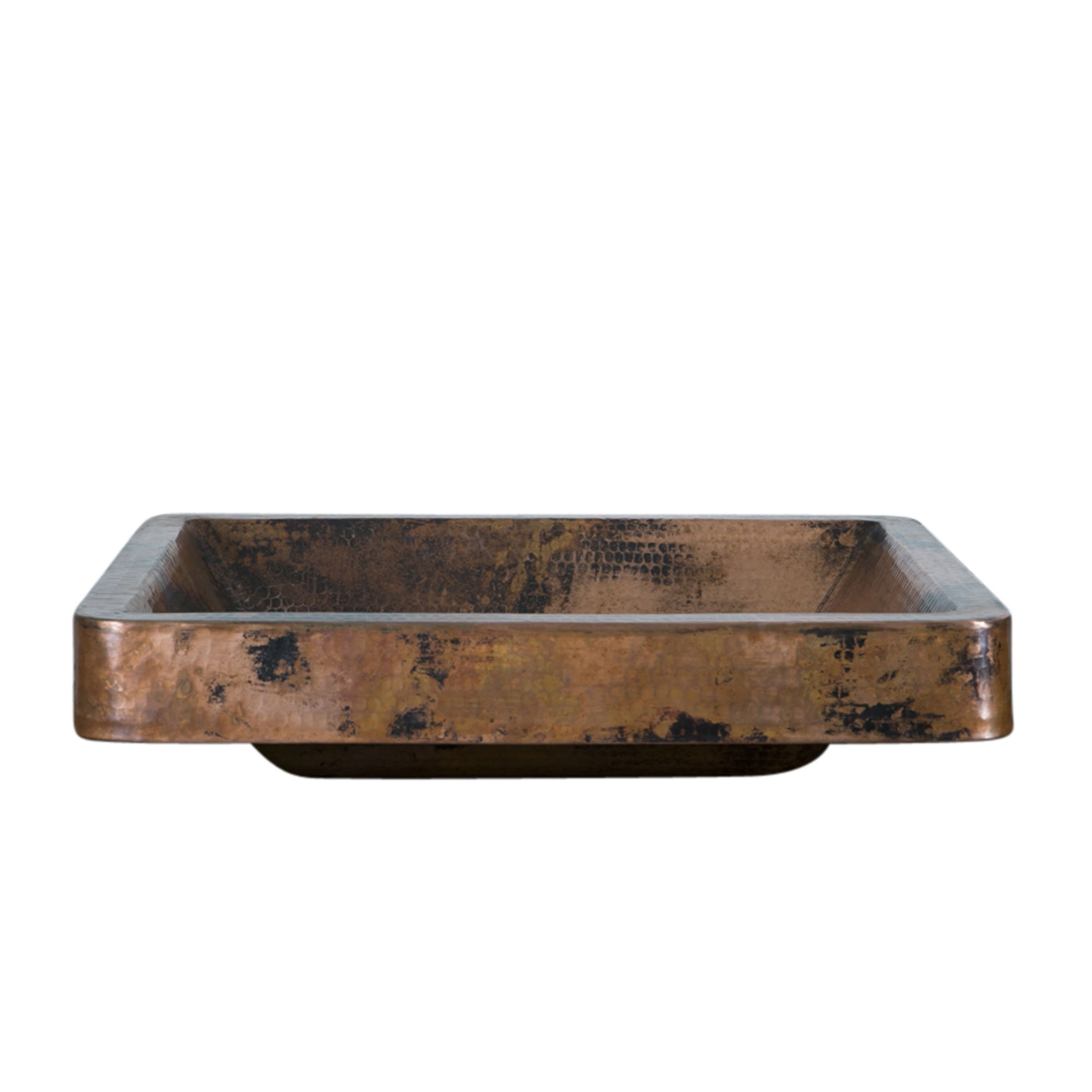 Buy Rectangle Copper Vessel Sink Online