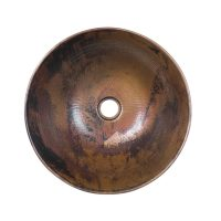 Purchase Round Copper Vessel Sink Online