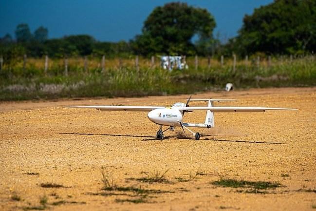 Nova Aeronave para inspeção de redes elétrica foxdrones fox drones cursos imagens aéreas