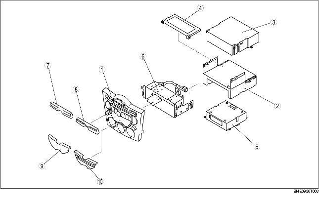 CENTER PANEL MODULE CONSTRUCTION