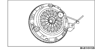 CLUTCH COVER INSPECTION