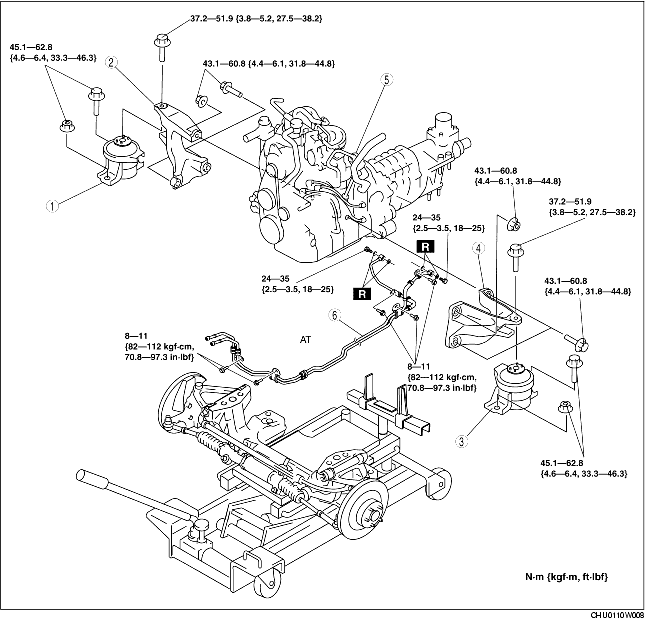 ENGINE REMOVAL/INSTALLATION