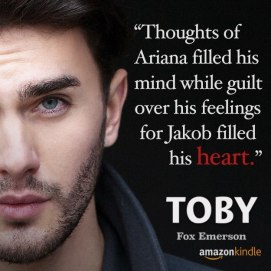 Toby Available on Amazon is bromance gay?