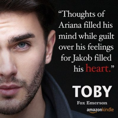 Toby Available on Amazon