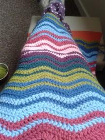 Baby ripple blanket