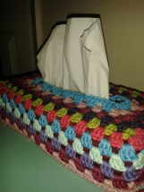 Brights tissue box cover