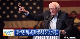 Make billionaires Pay Act passed by Bernie Sanders
