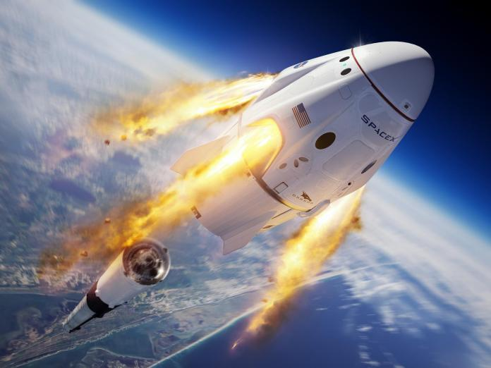 """Rich search results on Google when searched for """"SpaceX"""""""