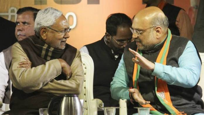 Seat-sharing in BJP and JD(U)