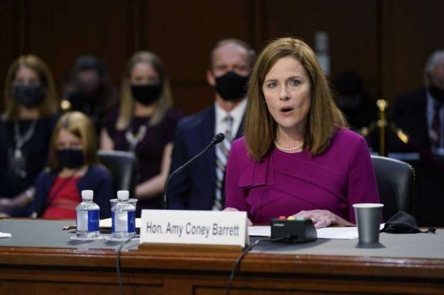 US Senate begins Barrett confirmation hearing