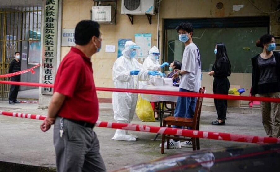 Mainland China reports first local Covid-19 infections in almost 2 months