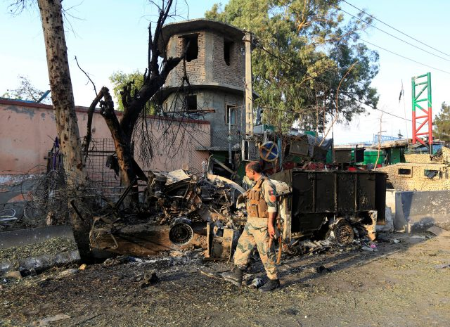 Afghanistan's Nangarhar: Government building targeted by a deadly car bomb
