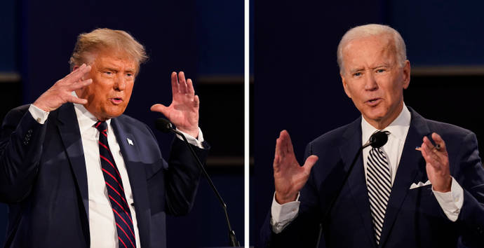 Donald Trump in the debate with Biden: Children brought into US by Cartels