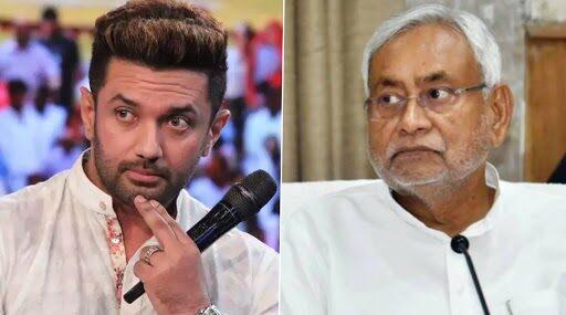 Chirag Paswan vs Nitish Kumar