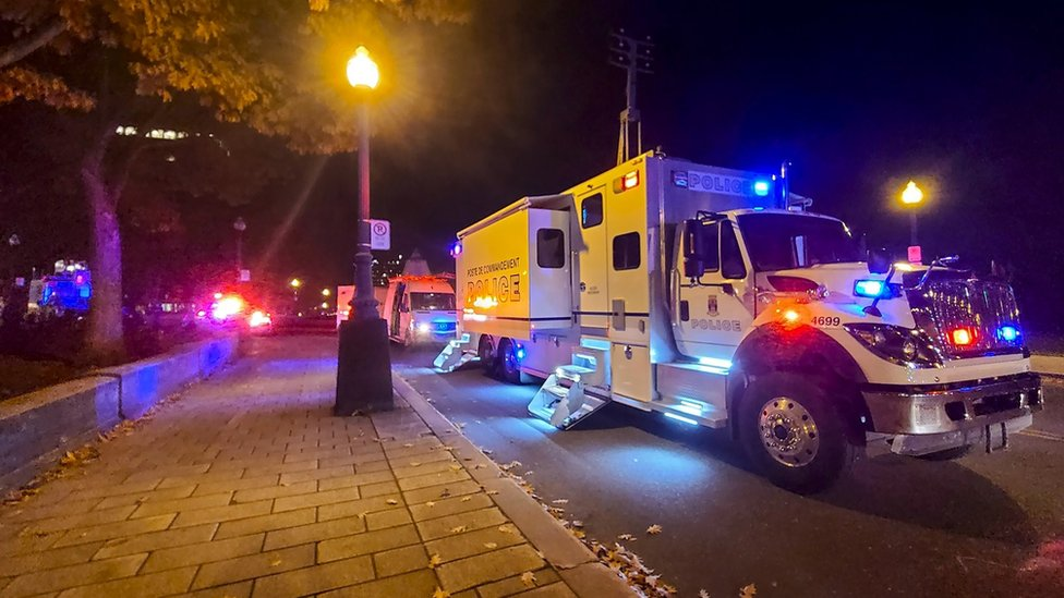 While we receive compensation when you click links to pa. Quebec City stabbing: man charged with two murders after Halloween sword attack - FoxExclusive