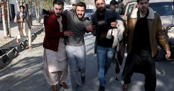 Afghan capital hit by multiple rockets: 8 civilians killed