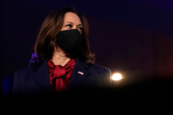Kamala Harris becomes the First Female Vice-President of America