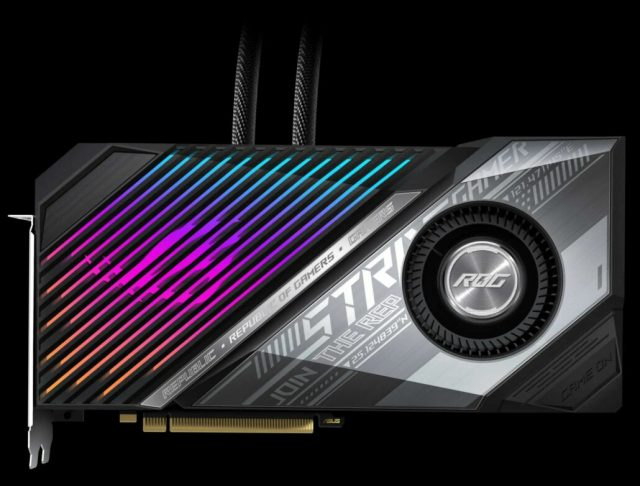 ASUS unveils Radeon RX 6900 XT custom cards